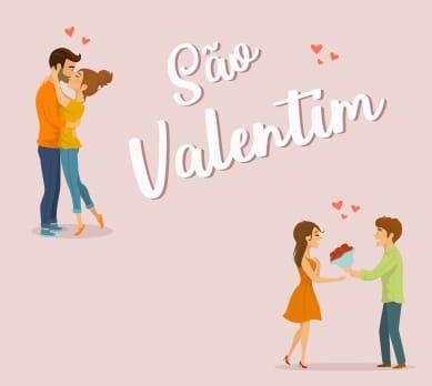 São Valentim; Valentine's Day; Dia dos Namorados